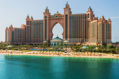 Atlantis Hotel in Dubai, UAE Stock Photos
