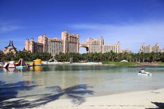 Atlantis Hotel Royalty Free Stock Image