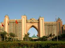 Atlantis Hotel, Palm Jumeirah, Dubai, United Arab Emirates Royalty Free Stock Photography