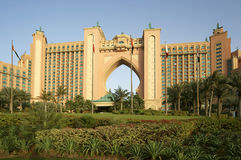 Atlantis Hotel, Palm Jumeirah, Dubai, United Arab Emirates Royalty Free Stock Images