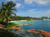 Atlantis Hotel Paradise Island Resort Stock Photo