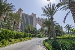 Atlantis hotel w Dubai zdjęcie royalty free
