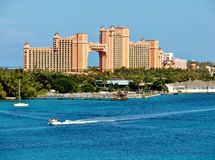 Atlantis hotell Royaltyfria Bilder