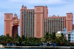 Atlantis hotell på Bahamas, Nassau Royaltyfria Bilder