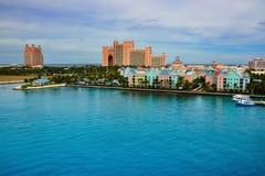 Atlantis, isla del paraíso Imagenes de archivo