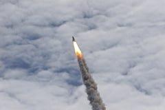 atlantis motorer shuttle upp Arkivbilder