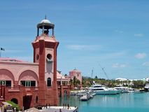 Atlantis in Nassau in den Bahamas lizenzfreies stockfoto
