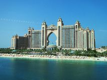 Atlantis The Palm, Dubai, United Arab Emirates.  stock photos