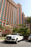 The Atlantis the Palm hotel Stock Image