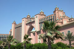 Atlantis, The Palm hotel in Dubai Royalty Free Stock Photo