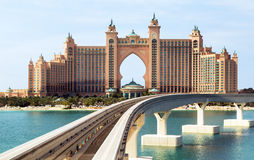 Atlantis the Palm hotel in Dubai, Royalty Free Stock Images