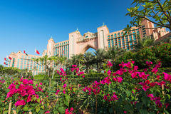 Atlantis, the Palm hotel in Dubai, UAE on October 29, 2014. Stock Image