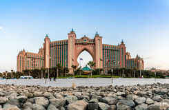 Atlantis, The Palm Hotel in Dubai, United Arab Emirates Royalty Free Stock Image