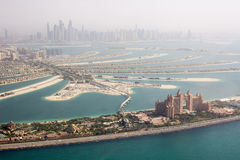The Atlantis Palm hotel view Stock Photography