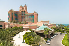 Atlantis, the Palm luxury hotel resort Royalty Free Stock Images