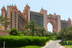 Atlantis, the Palm luxury hotel resort Royalty Free Stock Photography