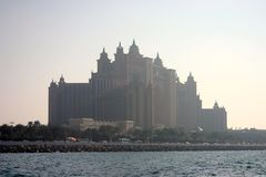 Atlantis palma Jumeirah Obraz Stock