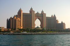 Atlantis palma Jumeirah obrazy royalty free