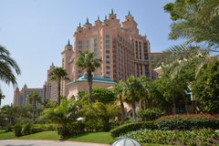 Atlantis palma przy Palmowym Jumeirah, Dubaj Fotografia Stock