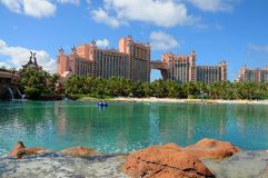 Atlantis-Paradies-Insel, Bahamas stockfotografie