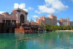 Atlantis paradisö, Bahamas Arkivbilder