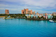 Atlantis , Paradise Island Stock Images