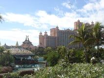 Atlantis on Paradise Island. In the Bahamas stock image
