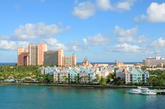 Atlantis Raju Wyspa, Bahamas zdjęcia stock
