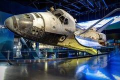 Atlantis-Raumfähre in Kennedy Center stockfotografie