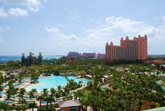 Atlantis resort Bahamas. Atlantis luxury resort in the Bahamas Stock Images