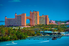 Atlantis Resort Hotel Royalty Free Stock Photos