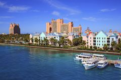 Atlantis resort in Nassau, Bahamas Stock Photo