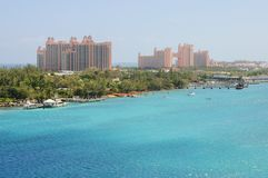 Atlantis Resort on Paradise Island Stock Photo