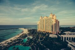 Atlantis Resort on Paradise Island Stock Photography