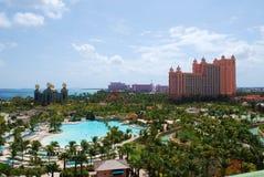 Atlantis semesterort Bahamas Arkivbilder