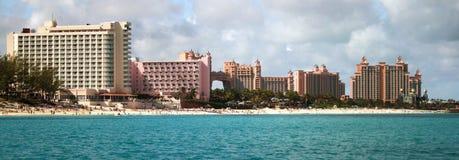 Atlantis semesterort, paradisö, Nassau, Bahamas Arkivbild