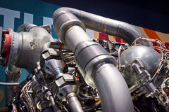 Atlantis shuttle engine Stock Photography