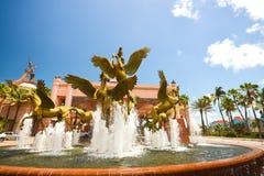 Atlantis springbrunn - häst Royaltyfri Foto