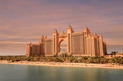 Atlantis sulla palma Jumeirah in Doubai immagini stock libere da diritti