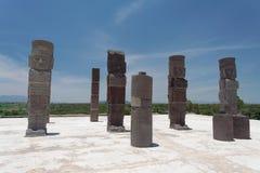 Atlantis in Tula Mexico Royalty Free Stock Photography
