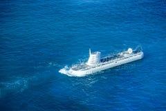 Atlantis VI, en turneraubåt, Aruba Arkivbild
