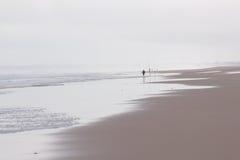 Atlantisch Strand stock foto's