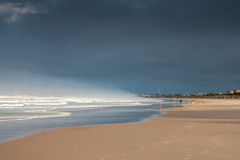Atlantisch Strand Stock Afbeelding