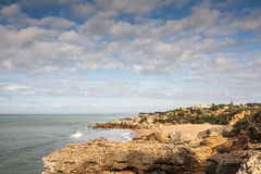 Atlantisch Strand stock foto