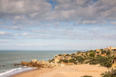 Atlantisch Strand stock fotografie