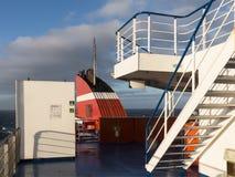 Atlantische de Trechter Blauwe Hemel van de Veerbootbrug Royalty-vrije Stock Foto