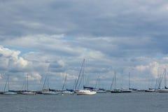 Atlantische Hooglandenjachthaven royalty-vrije stock afbeelding