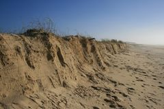 Atlantische Küste Stockfoto