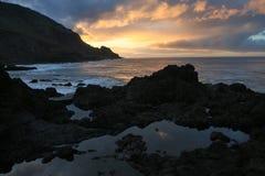 Atlantische kust, Kanarie Stock Afbeelding