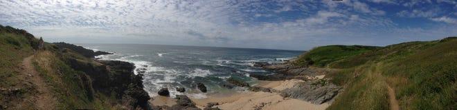 Atlantische kust van Frankrijk Stock Foto